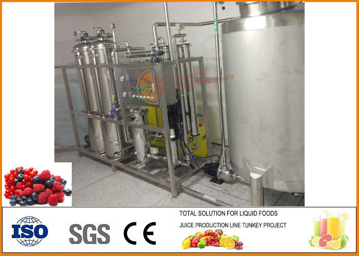 Blueberry Oral Liquid Beverage Processing Plant  6000 Bottles / 30Ml Per Hour