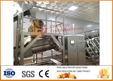 الصين 40T / H Pear / Apple Juice Production Line SUS304 Automatic Machinery مصنع